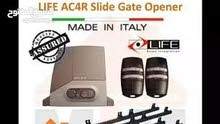 sliding gate moter brand life made in Italy