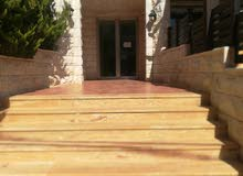 شقة 230 م لإيجار فارغ أرضية مع مدخل خاص ترس وحديقة 150م ديلوكس