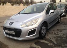 Silver Peugeot 308 2012 for sale