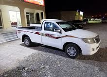 2014 Used Hilux with Manual transmission is available for sale
