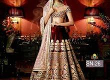 فستان هندي مخمل