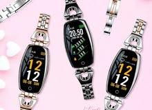ساعة نسائية ذكية من شركة LEMFO تحسب لك المسافة، معدل الضغط، دقات القلب