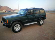 Green Jeep Cherokee 2001 for sale