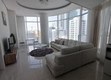 Luxury Style Higher Floor 1 BR FF Apartment + Balcony near Juffair Mall For Rent