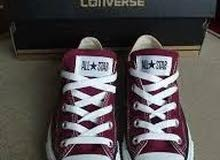 حذاء ماركة كونفرس الرياضي أصلي100٪ تركي المنشأ سعر القطعة 17الف