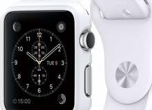 apple watch 1  جديده لم تستخدم بالسولفان 42 مقاس كبير
