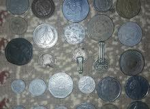 عملات نقدية مغربية والدول الاجنبية