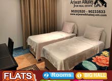 Second Floor  apartment for rent with 2 rooms - Bosher city Qurm