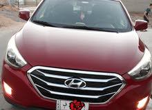 Hyundai Tuscani in Baghdad
