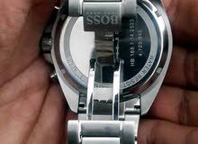 ساعة boss سويسرية اصلية