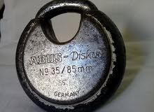قفل قديم ناذر من نوع ABUS DiSKUS Grmamny في حالة جيدة