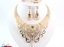 مجموعه جديده من الاطقم النسائية المطلية بالذهب
