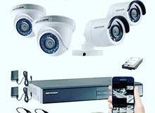 تركيب جميع انواع كاميرات مراقبة