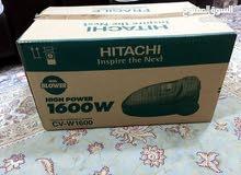 مكنسة كهربائية 1600 وات جديدة لم تستعمل new vacuuming machine 1600 watt