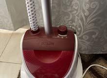 used steam ironing