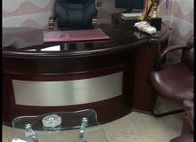 مكتب مدير وكاله مع طقم كنب