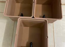احواض للزراعة للمائية دتش بكت مستعملة لمدة سنة فقط ومحمية