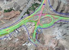 ارض صناعية مسورة في منطقة ثميد الصناعية بولاية بدبد
