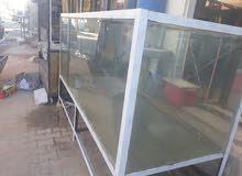 بيع شوايه سمك مسكوف وحوض اسماك كبير مترتين ونص
