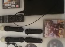 PS3 مستعمل للبيع مع ملحقاته او للبدل ب PS4
