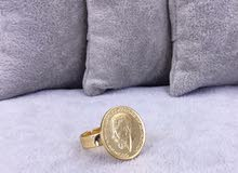 خاتم جنية دهب صيني اشكال تحفة