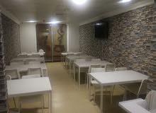مطعم جديد للبيع بكامل تجهيزاته