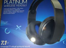 Playstation platinum headsets