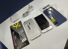 ايفون 6 اس 128 جيجا مستعمل مع الضمان وجميع الملحقات ونظافه 100%