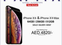 iPhone Xs and Xs Max Price in Dubai