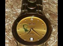 ساعة سويسرية اصلية مصنوعة في 2004 العقارب والوجهية دهب