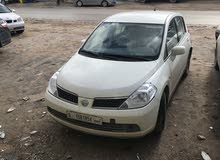 Nissan Tiida 2008 For sale - White color