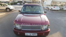 For sale 2004 Maroon Range Rover