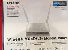 مودم ADSL موزع وايرلس Dlink.صحم