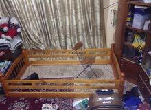 سرير طفل ناصي خشب اصلي جديد غير مستخدم