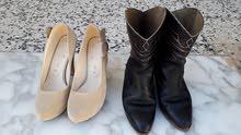 بوت جلد أصلي عندما تراه يتحدث عن نفسه  لايحتاج شكر وحذاء آخر متع حفلات