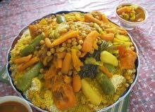 اكل مغربي و سعودي  و حلويات ام زياد