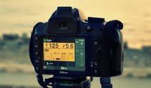 كاميرا Nikon D3200 شبه جديدة مع ملحقات كاملة + عدسة ماكرو
