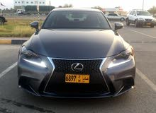 km mileage Lexus IS for sale