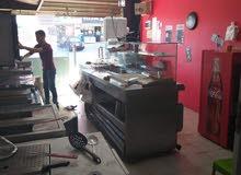 مطعم شاورما و سناكات للبيع
