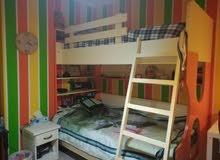 سرير اطفال طابقين للبيع
