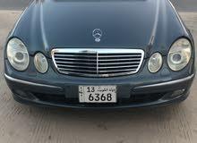 mercedes E240 2004 بحالة ممتاذه
