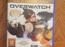 Over watch ps4 game