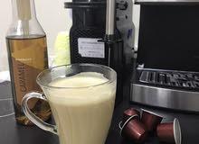 مكائن قهوة نظيفة