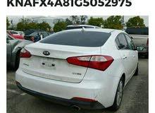 1 - 9,999 km Kia Forte 2016 for sale