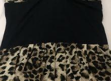 فستان تايقر قصير