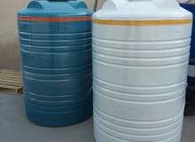 خزانات مياه بلاستيكية 0781728404