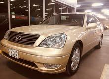 للبيع لكزس LS430 الساير موديل2001