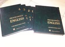 كتب تعليم اللغه الانجليزيه PROGRAMMED ENGLISH