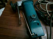 مقص صاج كهربائي يدوي لقص وتفصيل الصاج الدكت نوع ماكيتا