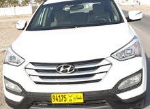 هيونداي سنتفيا موديل 2014خليجي وكالة عمان تامين شامل سنة بحالة الوكالة شبه جديده